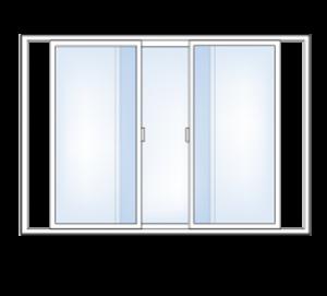 3-Lite Slider Windowv